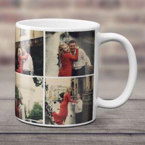 8 fotoğraflı beyaz kupa bardak, fotoboya.com