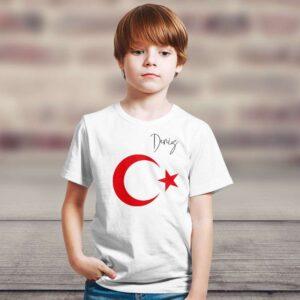 isminize özel tasarım tişört, fotoboya.com