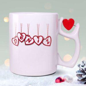 Sapı-Kırmızı-Kalpli-Beyaz-Kupa-Bardak---Yeni-Yıl-fotoboya.com