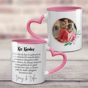 sapı ve içi pembe kişiye özel kupa bardak, fotoboya.com