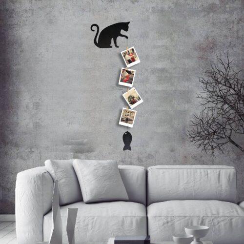 Kedi Pati Tasarım ve 4 Fotoğraf Baskı