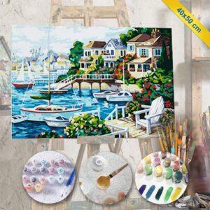 fotoboya.com, sayılarla tablo boyama hobi seti