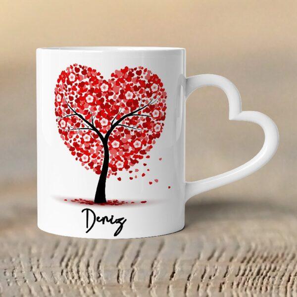 kalp kulp özel tasarım kupa bardak, fotoboya.com