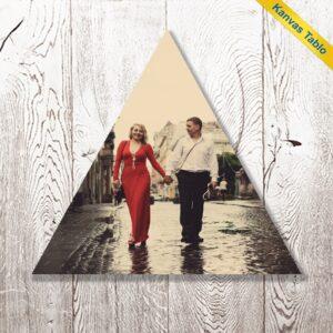 fotoğrafından üçgen kanvas tablo, fotoboya.com