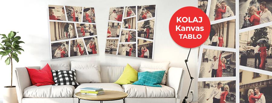 kolaj kanvas tablo, fotoboya.com