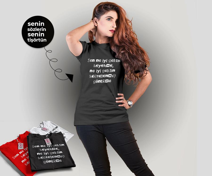 senin sözlerin senin tişörtün, fotoboya.com