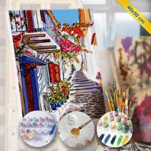 Sayılarla tablo boyama hobi seti, fotoboya.com