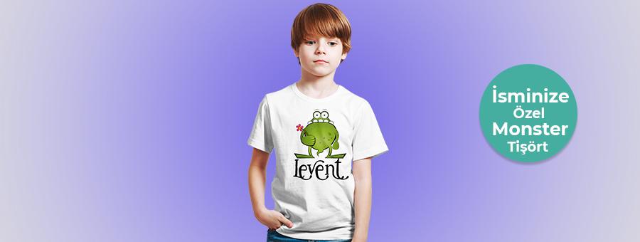 monster tişört, fotoboya.com