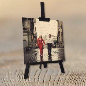 Fotoğrafından Ahşap Puzzle ve Şövale, fotoboya.com